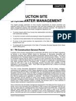 Vol2 Chap 9 Construction Site Stormwater Management