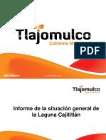Rueda de prensa Cajititlán Tlajomulco