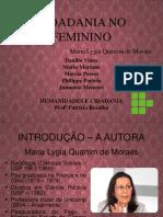 Humanidades e Cidadania - Final - 2003