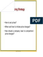 Cours 7 - Pricing Strategy