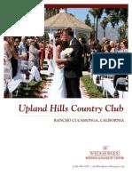 Uplandhills Wedgewood Wedding Packages