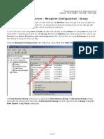 _Part 37 - Exchange Server - Recipient Configuration - Group