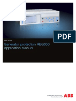 1MRK502047-UEN - En Application Manual Generator Protection REG650 1.3 IEC