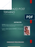 Embarazo Post Termino