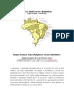 Bacias Sedimentares Brasileiras - Origem e Evolução