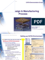 Mold Design & Manufacturing Process(Catia)