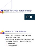 BBBHost Microbe Relationship