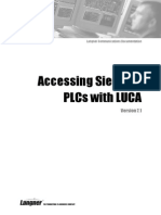Accessing Siemens PLCs With LUCA