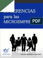 Sugerencias Para Las Microempresas