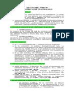 Cuestionario Derecho Constitucional