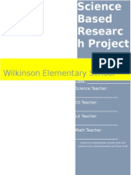 2014-2015 science based research project workbook