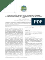 ENTOMOFAUNA VISITANTE DE  DOMBEYA WALLICHII  (FAMILIA:MALVACEAE) DO PARQUE MUNICIPAL DA LAJINHA- MG