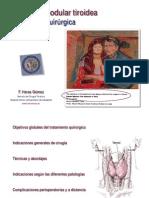 Tiroidectomía PDF-Dr. Heras