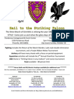 Hail to the Striking Falcon - Grimfells 2014 Event