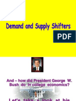 Demand & Supply Shifters