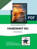 Fahrenheit 451 Literary Analysis