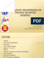 Regulatory Requirements on PV (General)