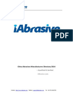 China Abrasives Manufacturers Direcotry