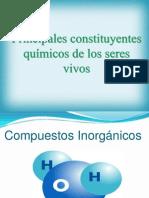 3 Principales Constituyentes Químicos de Los Seres Vivos2