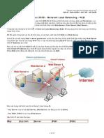 _Part 47 - Upgrade Server 2008 - Network Load Balancing - NLB