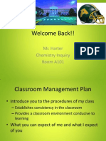 first day management plan inquiry chem