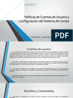 Políticas de Cuentas de Usuario y Configuración del Sistema de Correo