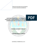 Auditoria de Inventarios