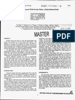 Residual Stresses in Weld Overlay Tubes - a Finite Element Study -_ Marcelo Fei Pmt 2014