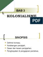 bab 3 - kolonialisme