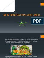 New Generation Airplanes