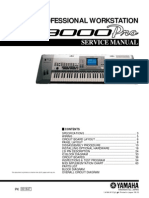 YAMAHA 9000-Pro Service Manual
