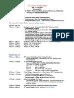 Vf Schedule 2014