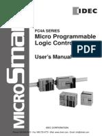 IDEC MicroSmart Manual