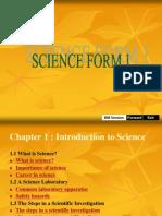 Bab 1 Pengenalan Kepada Sains