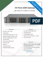 OpenVox VoxStack VS-GW2120 Series Datasheet