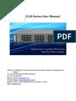 OpenVox VoxStack VS-GW2120 Series User Manual