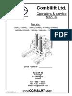 Combilift Ltd. Operators & service Manual.