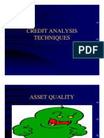 Credit Analysis Techniques