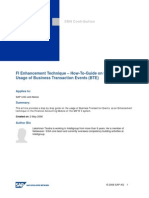 FI Enhancement Technique - How-To-Guide on the Usage of Business Transaction Events (BTE).Doc