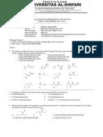 Soal UTS Kimia Organik 13-14