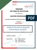 Audit Securite Systeme Informatique MTIC