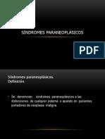 SINDROME PARANEOPLASICO (1)