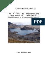 Hidrologia Represa Chuchon 2008