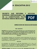 reformaeducativayleyessecundariasdbasica-131031001949-phpapp02