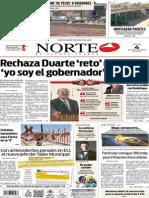 Periódico Norte edición del día 4 de septiembre de 2014