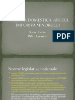Violență domestică -legislație