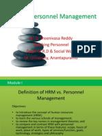 HRM vs PM