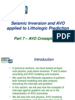 7 AVO Cross Plot