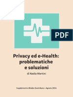 Privacy Ed E-health