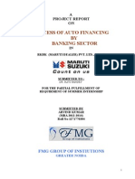 Auto Finance - Maruti Suzuki